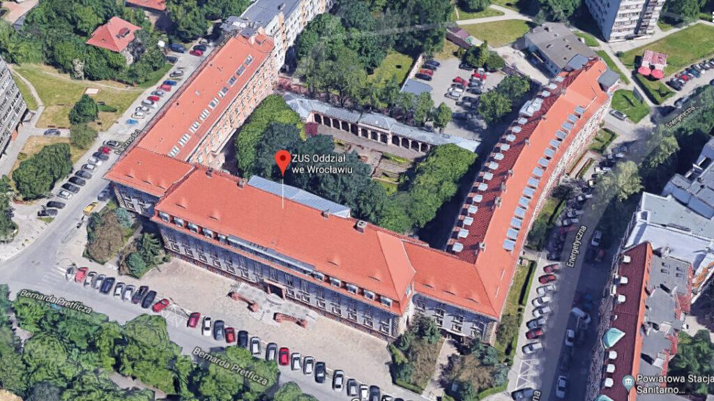 Budynek ZUS Wrocław Pretficza